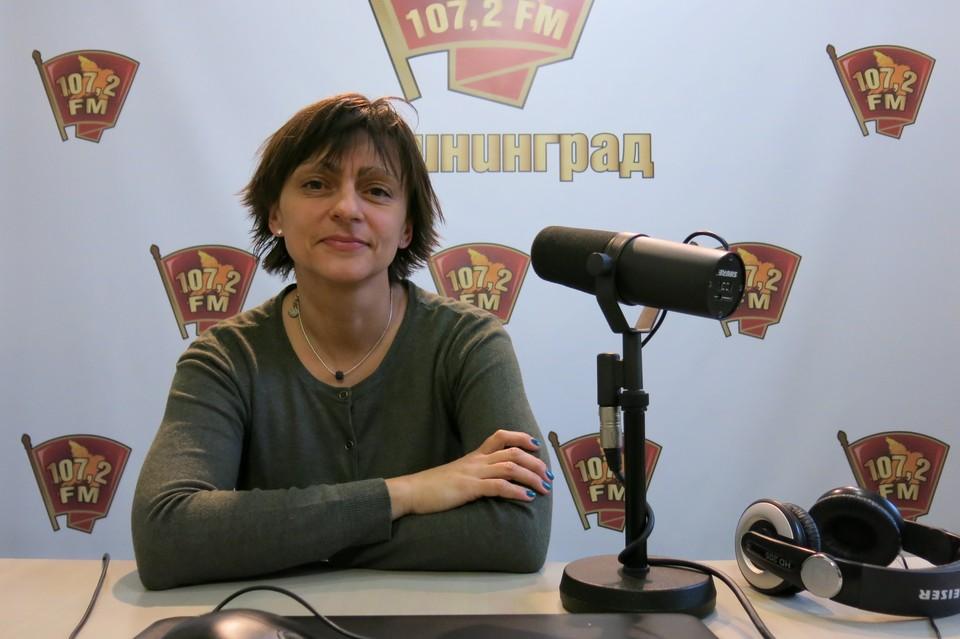 Говорит Калининград. Анна Алимпиева