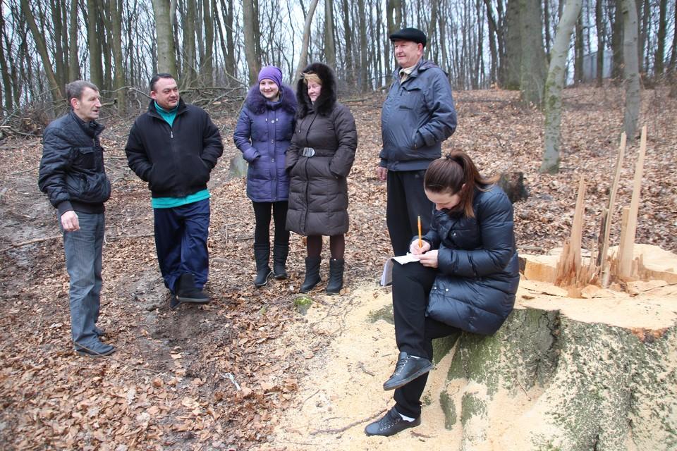 В 2016 году жители Холмогоровки собирали подписи против вырубки леса, сейчас собирают против железной дороги, которая должна пройти прямо по домам.