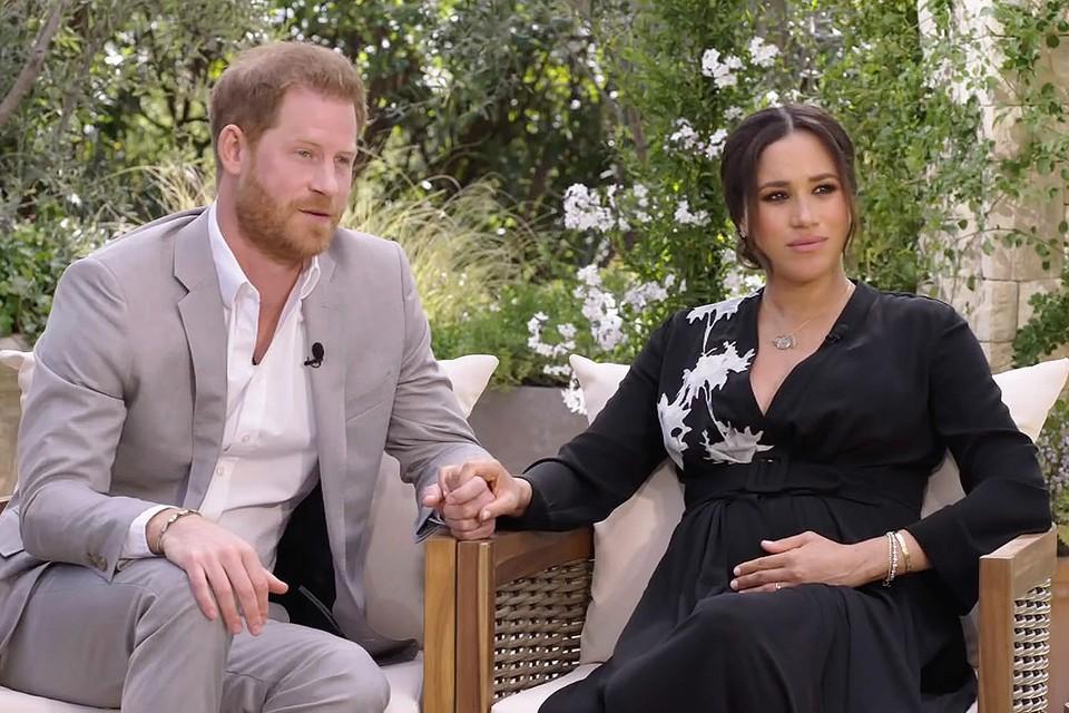Беседа принца Гарри и Меган Маркл с телеведущей Опрой Уинфри стало одним из обсуждаемых телешоу в этом году.