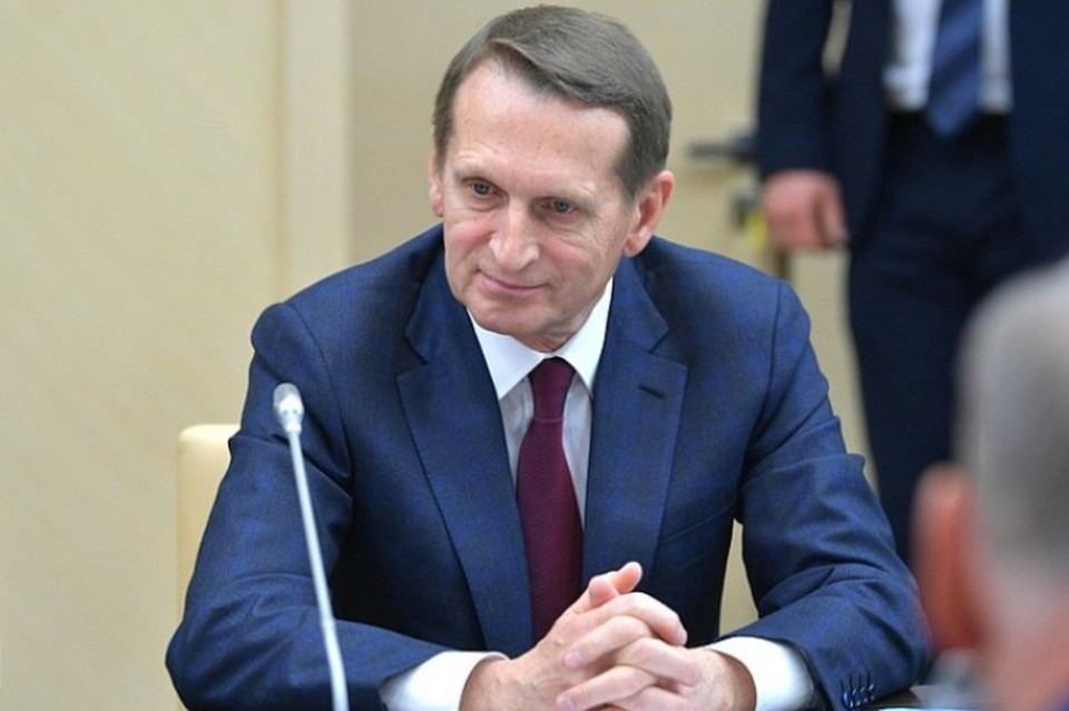 Директор СВР России Сергей Нарышкин