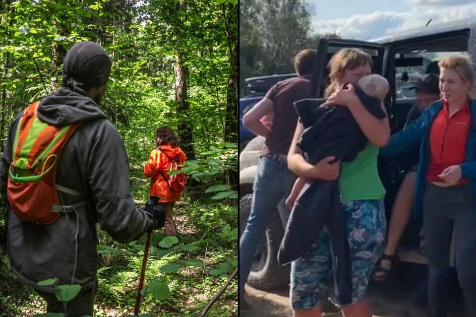 """""""Комсомолка"""" рассказывает, как годовалая девочка смогла выжить в лесу под Смоленском на протяжении четырех дней. Фото: vk.com/pso_salvare"""