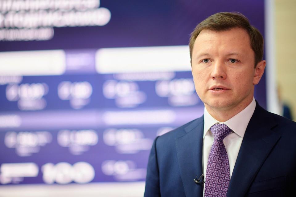 Заместитель мэра Москвы по вопросам экономической политики и имущественно-земельных отношений Владимир Ефимов.