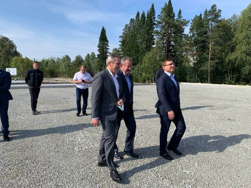 С рабочим визитом приехали в Тобольск полномочный представитель президента в УрФО Владимир Якушев и губернатор области Александр Моор
