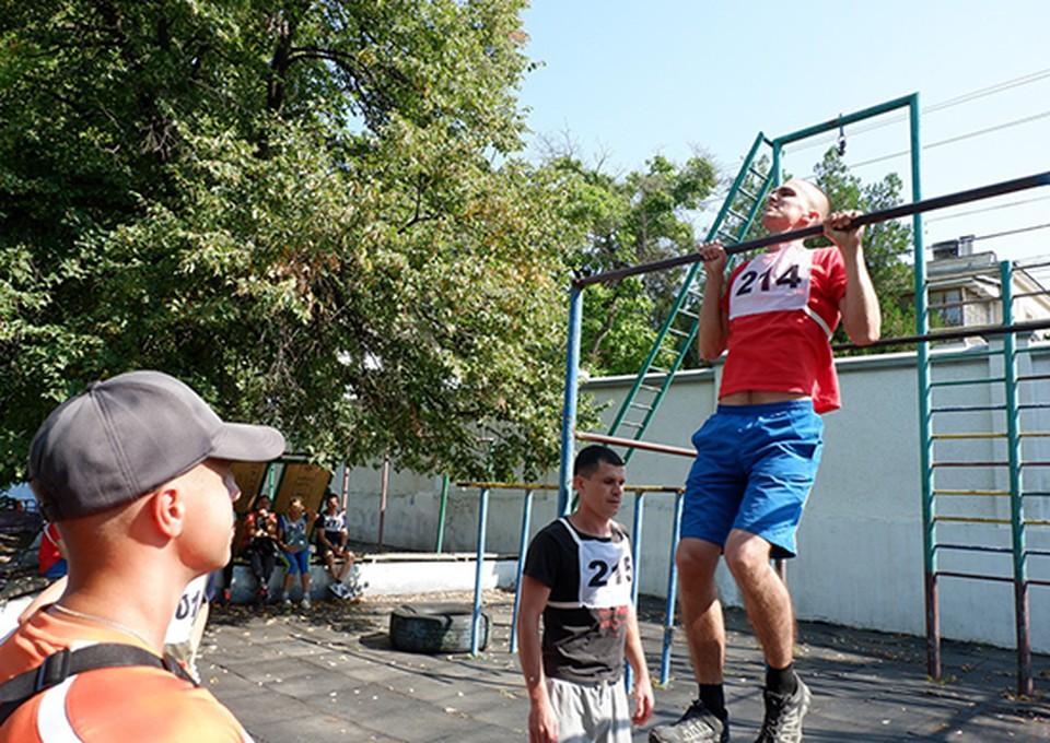 Борьба была нешуточной. Фото: structure.mil.ru