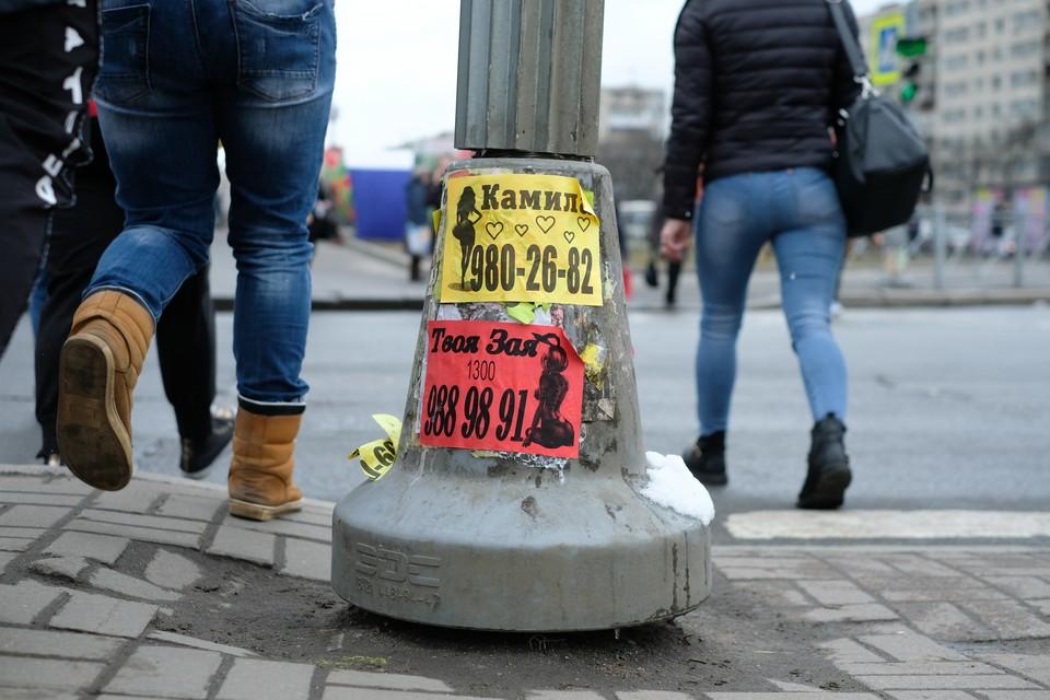 В МВД Петербурга раскрыли районы — рассадники проституции