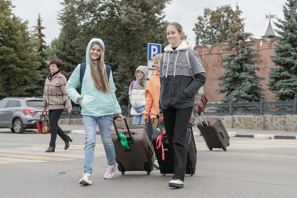 Туляки-победительницы Всероссийского конкурса «Большая перемена» отправились в железнодорожное путешествие до Дальнего Востока