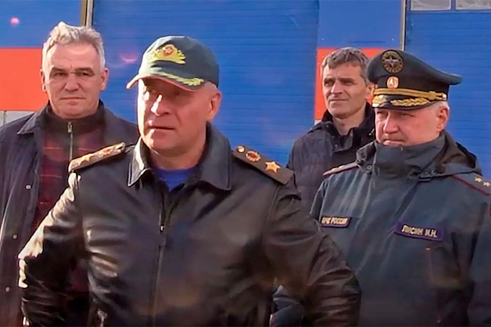 Глава МЧС Евгений Зиничев находился с рабочим визитом в Красноярском крае