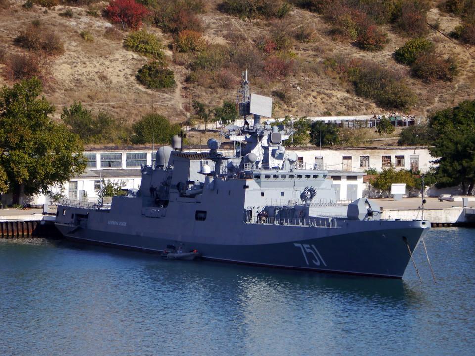 Фрегат «Адмирал Эссен» Черноморского флота. Фото: архив «КП»-Севастополь»