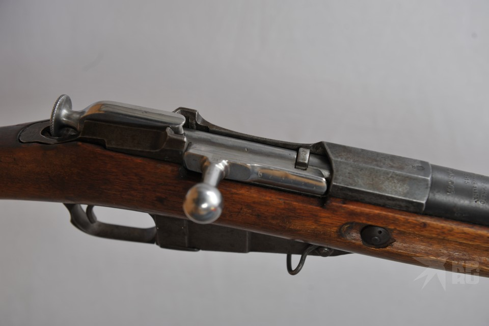 У рязанца изъяли обрез винтовки Мосина 1891 года выпуска.