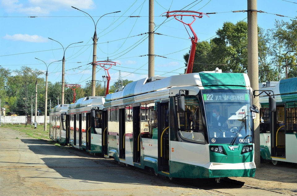 Новые трамваи в Челябинске уже работают на маршрутах. Обновление парка общественного транспорта продолжится.
