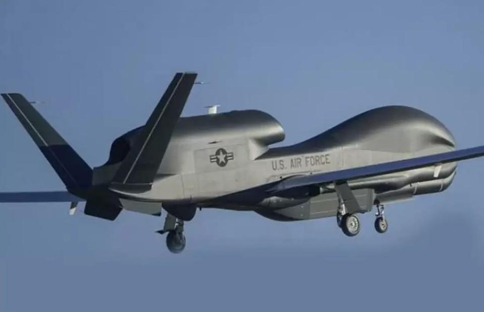 Дрон RQ-4В ВВС Соединенных Штатов совершил взлет с авиабазы Сигонелла, что в Италии