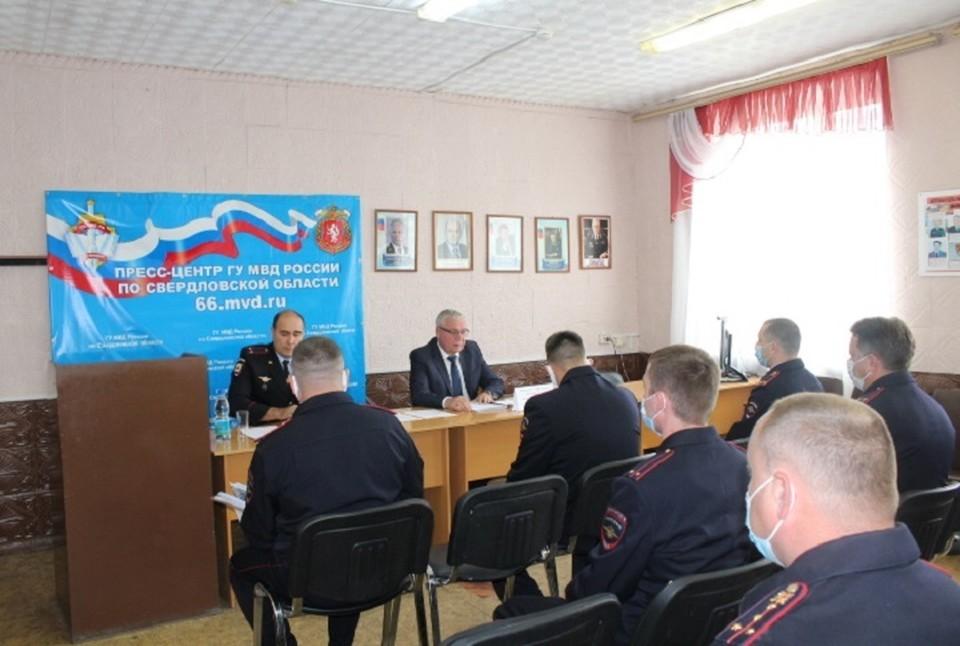 Начальник регионального МВД посетил три отдаленных ОВД. Фото: предоставлено В.Н. Горелых