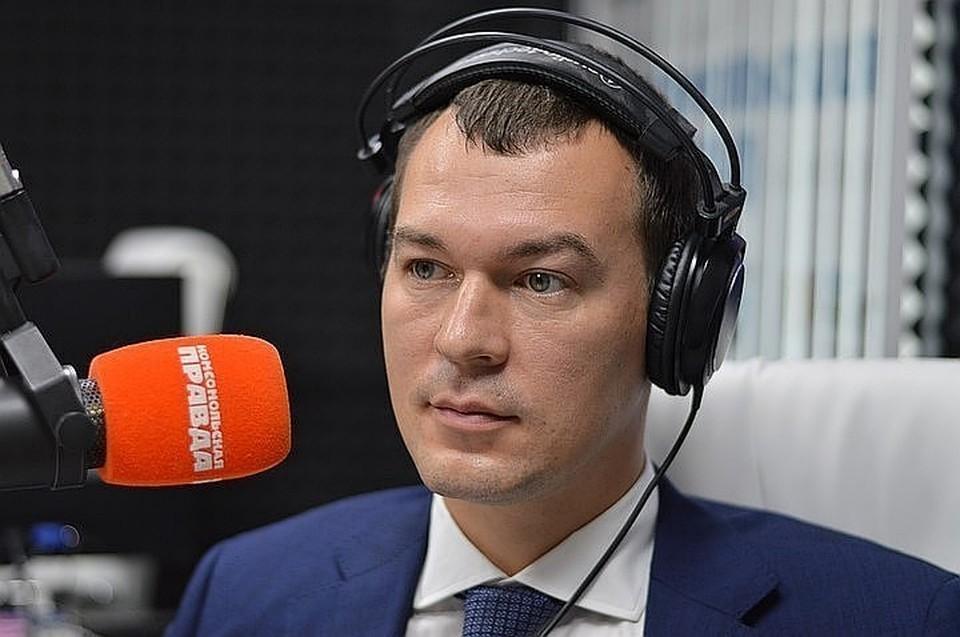 Врио губернатора рассказал слушателям радио «Комсомольская правда», что он успел сделать за истекшие семь дней.