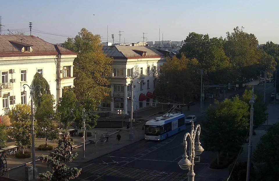 В городе осень. Фото: «Севстар»