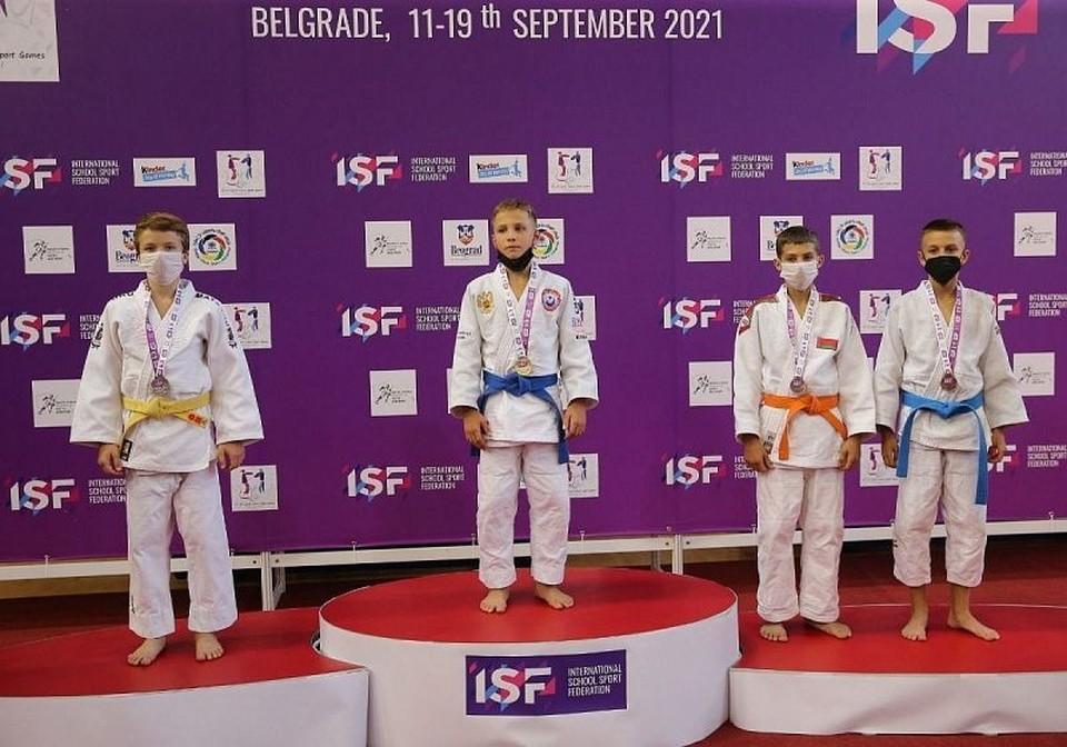 Юный дзюдоист из Сургута завоевал золото на Всемирных школьных спортивных играх Фото: Центр спортивной подготовки сборных команд Югры