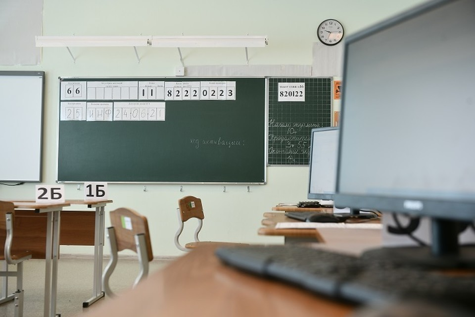 Власти обещают, что в школе будет тепло зимой