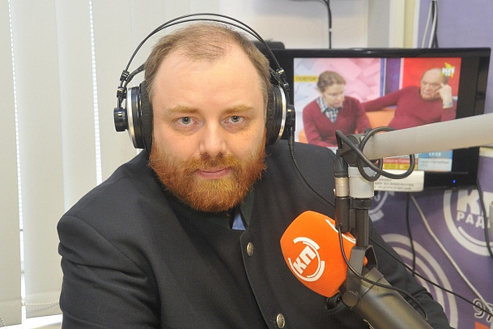 Политолог Егор Холмогоров