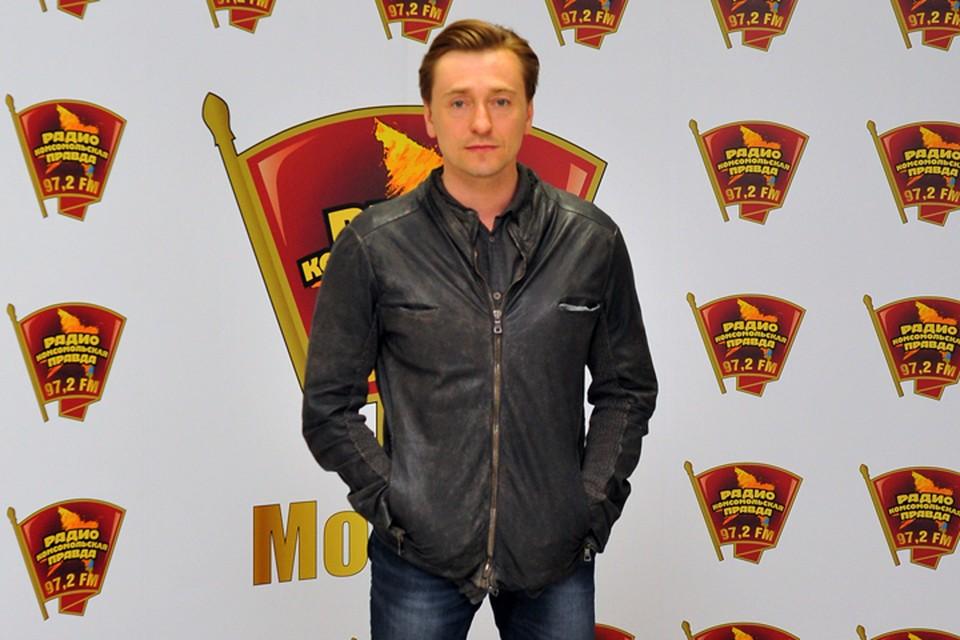 Сергей Безруков в гостях у Радио «Комсомольская правда»